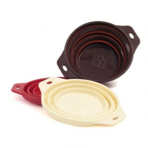 Rosewood Travel Dog Portable Bowl Collapsible Silicone Bowl